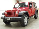 2012 Flame Red Jeep Wrangler Unlimited Sport S 4x4 #55236285