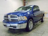 2011 Deep Water Blue Pearl Dodge Ram 1500 Big Horn Quad Cab 4x4 #55236282