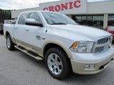2012 Bright White Dodge Ram 1500 Laramie Longhorn Crew Cab 4x4 #55235854