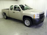 2008 Silver Birch Metallic Chevrolet Silverado 1500 Work Truck Extended Cab #55236077