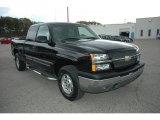 2003 Black Chevrolet Silverado 1500 LT Extended Cab 4x4 #55236256