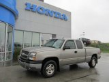 2003 Light Pewter Metallic Chevrolet Silverado 1500 Z71 Extended Cab 4x4 #55235817