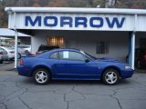 2003 Sonic Blue Metallic Ford Mustang V6 Coupe #55235814