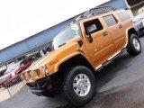 2006 Fusion Orange Hummer H2 SUV #55235727