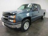 2007 Blue Granite Metallic Chevrolet Silverado 1500 Classic LS Extended Cab 4x4 #55235970