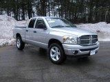 2008 Bright Silver Metallic Dodge Ram 1500 Big Horn Edition Quad Cab 4x4 #5519859