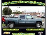 2012 Blue Granite Metallic Chevrolet Silverado 1500 LS Crew Cab 4x4 #55283846