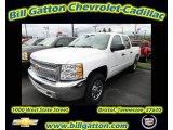 2012 Summit White Chevrolet Silverado 1500 LS Crew Cab 4x4 #55283842