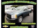 2011 Blue Granite Metallic Chevrolet Silverado 1500 Regular Cab #55283836