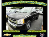 2011 Black Chevrolet Silverado 1500 LS Regular Cab 4x4 #55283835
