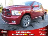 2012 Deep Cherry Red Crystal Pearl Dodge Ram 1500 Sport Crew Cab #55283331