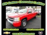 2011 Victory Red Chevrolet Silverado 1500 LS Crew Cab 4x4 #55283832