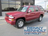 2005 Sport Red Metallic Chevrolet Tahoe Z71 4x4 #55283584