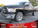 2012 Black Dodge Ram 1500 Big Horn Quad Cab #55283328