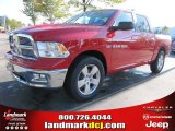 2012 Flame Red Dodge Ram 1500 Big Horn Crew Cab #55283323
