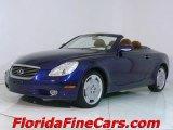 2003 Indigo Ink Blue Pearl Lexus SC 430 #543829
