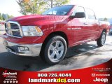 2012 Flame Red Dodge Ram 1500 Big Horn Crew Cab #55283320