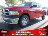2012 Flame Red Dodge Ram 1500 ST Crew Cab #55283312