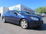 2008 Imperial Blue Metallic Chevrolet Malibu LS Sedan #55283572