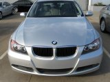 2007 Titanium Silver Metallic BMW 3 Series 328i Sedan #5521424