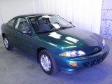1998 Manta Green Metallic Chevrolet Cavalier Coupe #55283561