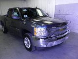 2012 Blue Granite Metallic Chevrolet Silverado 1500 LT Crew Cab #55283560