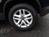 2011 Volkswagen Tiguan SE 4Motion Wheel