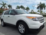 2011 White Suede Ford Explorer FWD #55283279