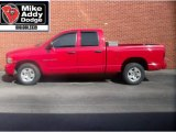 2005 Flame Red Dodge Ram 1500 SLT Quad Cab #5517429