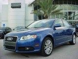 2008 Ocean Blue Pearl Effect Audi A4 2.0T Special Edition Sedan #543182