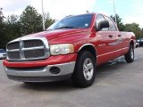 2002 Flame Red Dodge Ram 1500 SLT Quad Cab #55283233