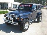 2006 Midnight Blue Pearl Jeep Wrangler Unlimited 4x4 #55283521