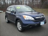 2007 Royal Blue Pearl Honda CR-V EX 4WD #5506230