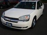 2005 White Chevrolet Malibu LT V6 Sedan #55283178