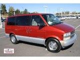 Red Maple Metallic Chevrolet Astro in 1998