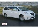 2012 Super White Toyota Sienna LE AWD #55283159