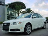 2008 Ibis White Audi A4 2.0T Special Edition Sedan #543179