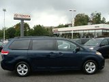 2011 South Pacific Blue Pearl Toyota Sienna LE #55283419
