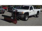 2007 Summit White GMC Sierra 2500HD Classic Regular Cab 4x4 #55283628