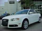 2008 Ibis White Audi A4 2.0T Special Edition Sedan #543178