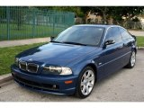 2003 Mystic Blue Metallic BMW 3 Series 325i Coupe #55283399