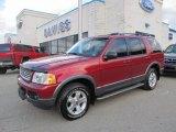 2003 Redfire Metallic Ford Explorer XLT 4x4 #55283387