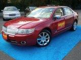 2008 Vivid Red Metallic Lincoln MKZ AWD Sedan #55283380