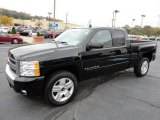 Black Chevrolet Silverado 1500 in 2008