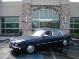 1998 Sapphire Blue Metallic Jaguar XJ Vanden Plas #5517219