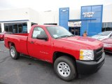 2012 Victory Red Chevrolet Silverado 1500 Work Truck Regular Cab 4x4 #55283364