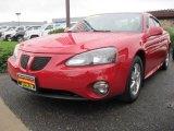 Crimson Red Pontiac Grand Prix in 2006
