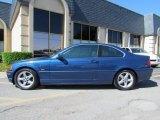 2002 Topaz Blue Metallic BMW 3 Series 325i Coupe #55332633