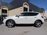 2010 Glacier White Pearl Nissan Murano LE #55332629