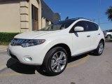 2010 Nissan Murano Glacier White Pearl
